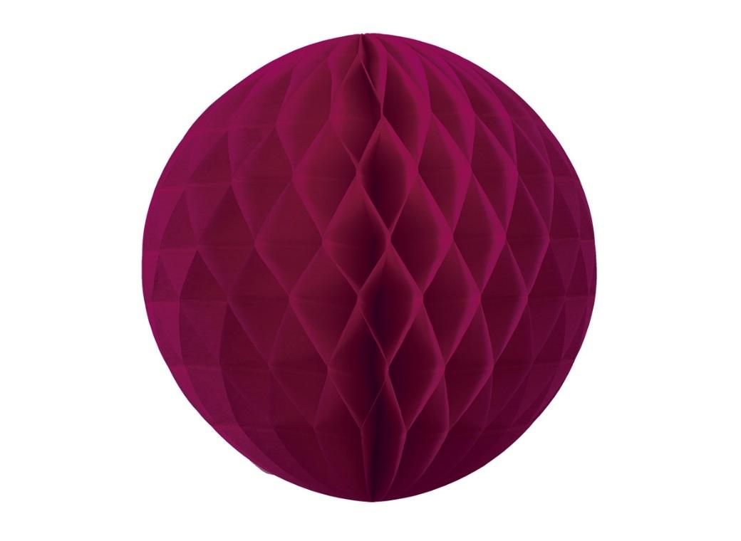 Tissue Honeycomb Ball 35cm - Wildberry
