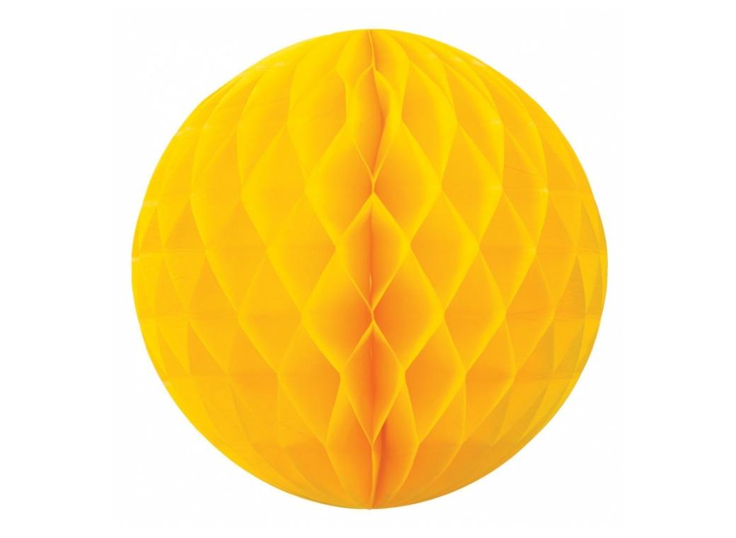 Tissue Honeycomb Ball 35cm - Yellow