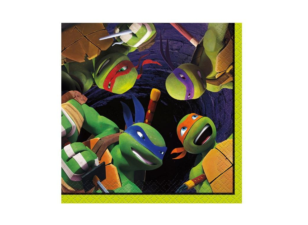 Teenage Mutant Ninja Turtles Beverage Napkins
