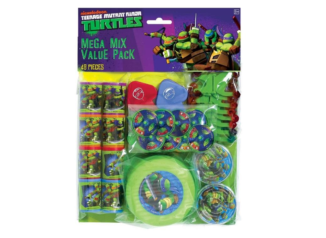 Teenage Mutant Ninja Turtles 48pce Favour Pack