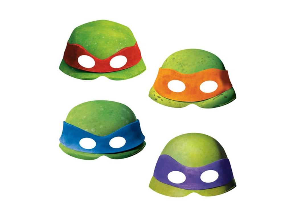 Teenage Mutant Ninja Turtles Masks 8pk
