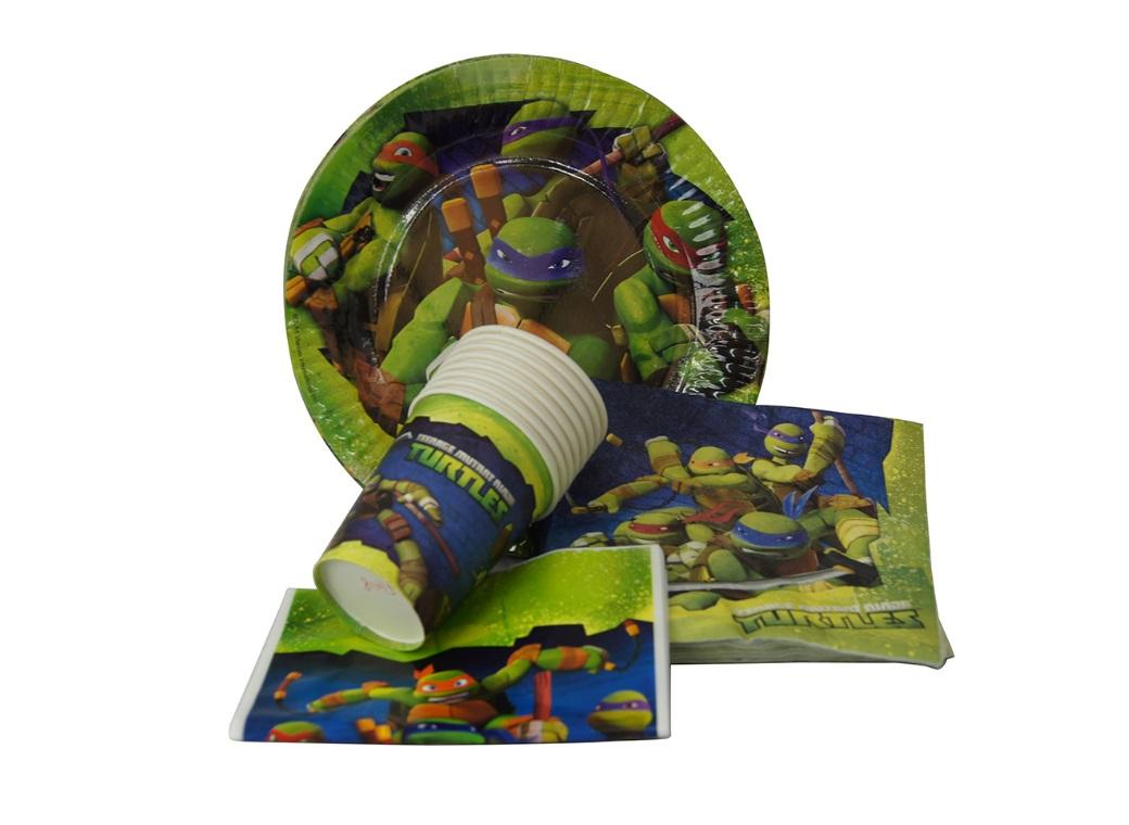 Teenage Mutant Ninja Turtles Party Pack 40pce