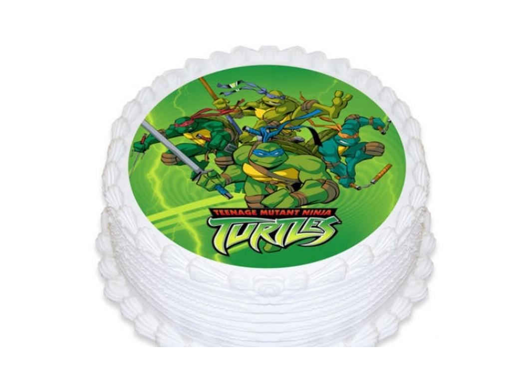 Edible Icing Image - Teenage Mutant Ninja Turtles Round
