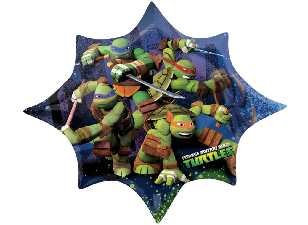 Teenage Mutant Ninja Turtles SuperShape Foil Balloon