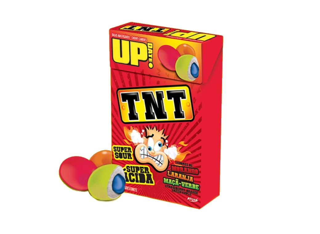 TNT Super Sour Chews Box
