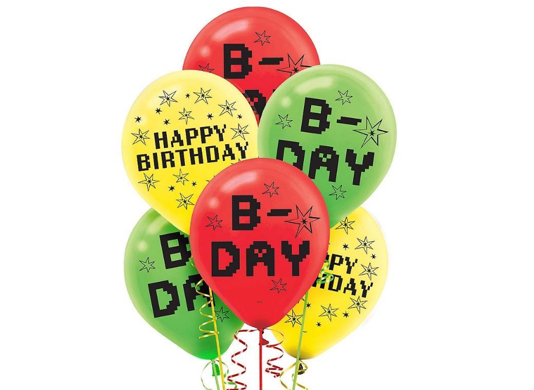TNT Party Balloons 6pk