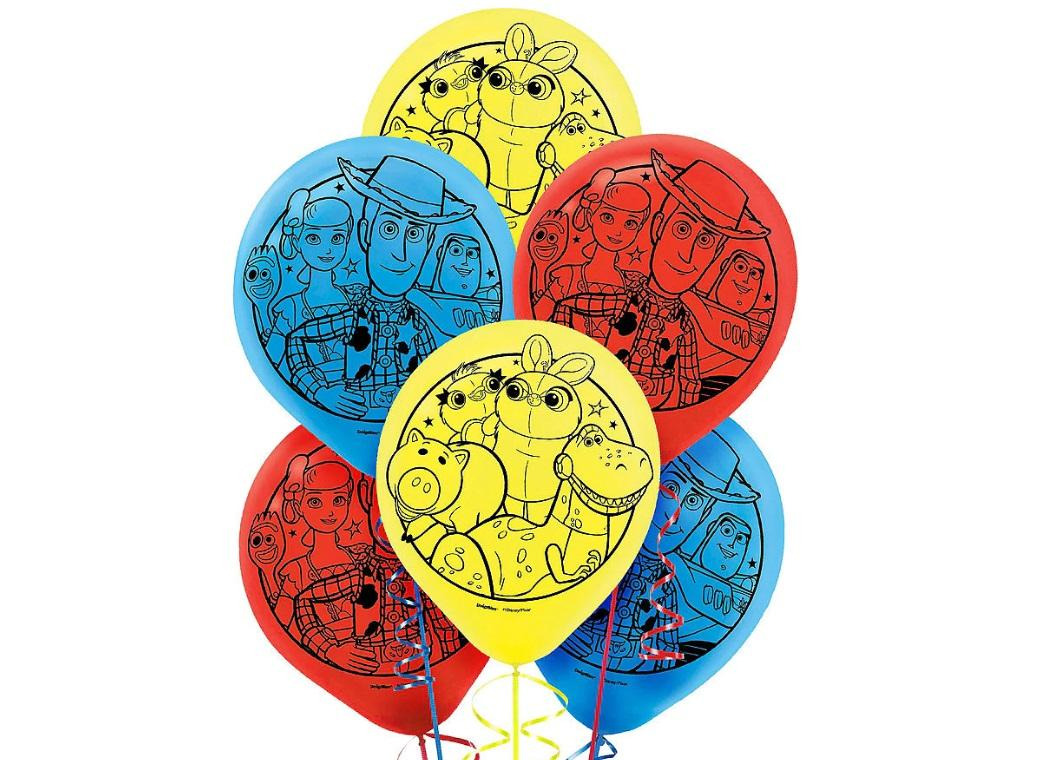 Toy Story 4 Balloons 6pk