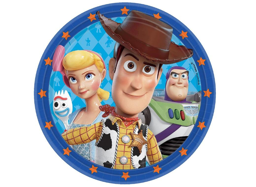 Toy Story 4 Dinner Plates 8pk