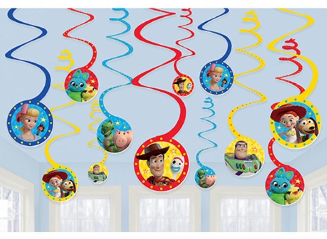 Toy Story 4 Hanging Spiral Decorations