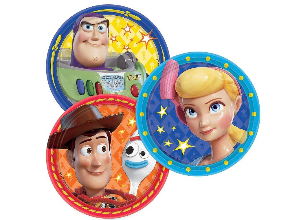 Toy Story 4 Lunch Plates 8pk