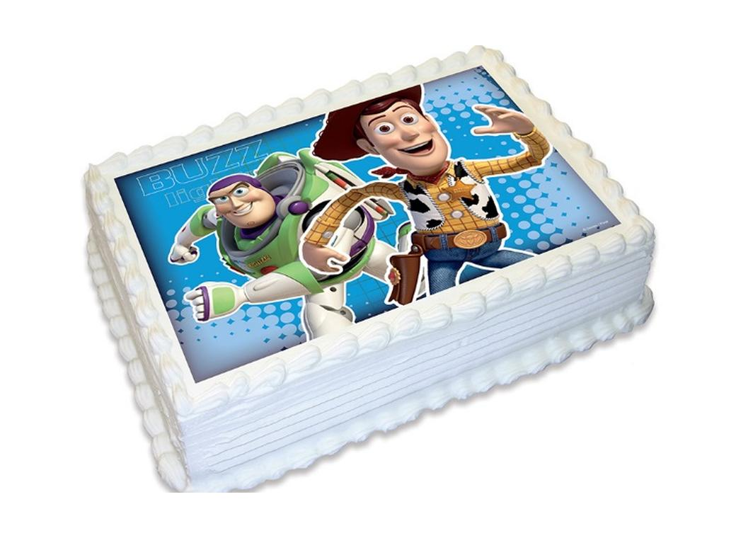Edible Icing Image - Toy Story A4