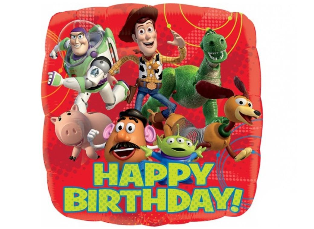Toy Story Happy Birthday Foil Balloon