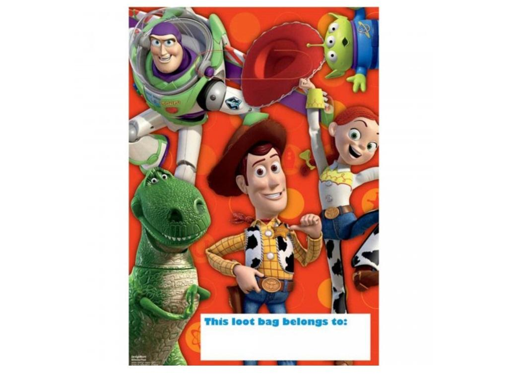 Toy Story Loot Bags 8pk