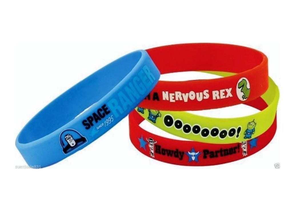 Toy Story Wristbands 4pk