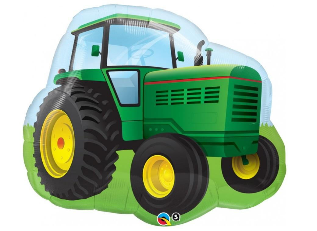 Tractor SuperShape Balloon