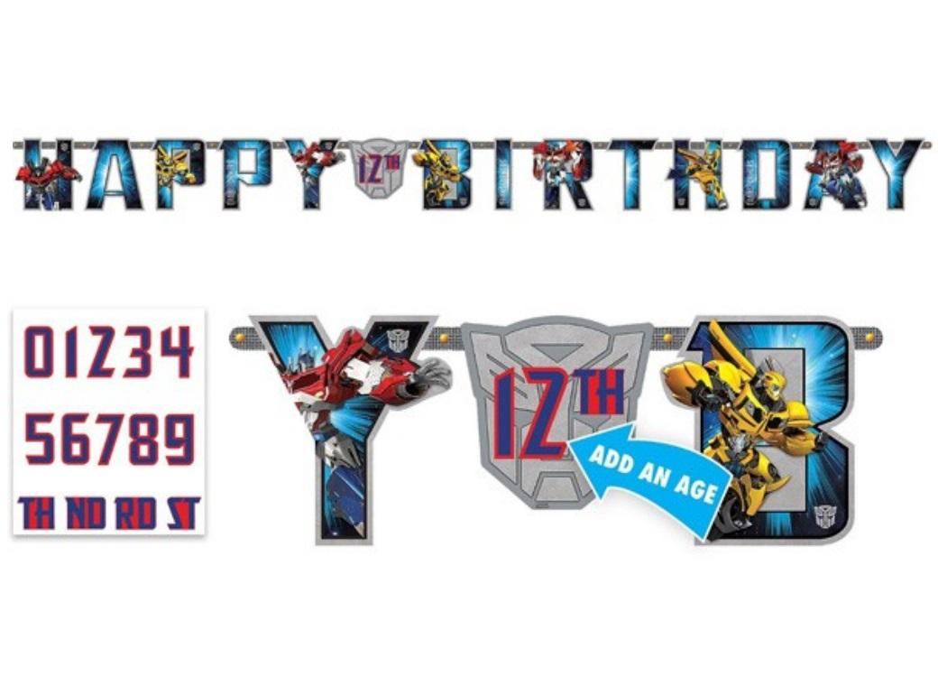 Transformers Add an Age Banner