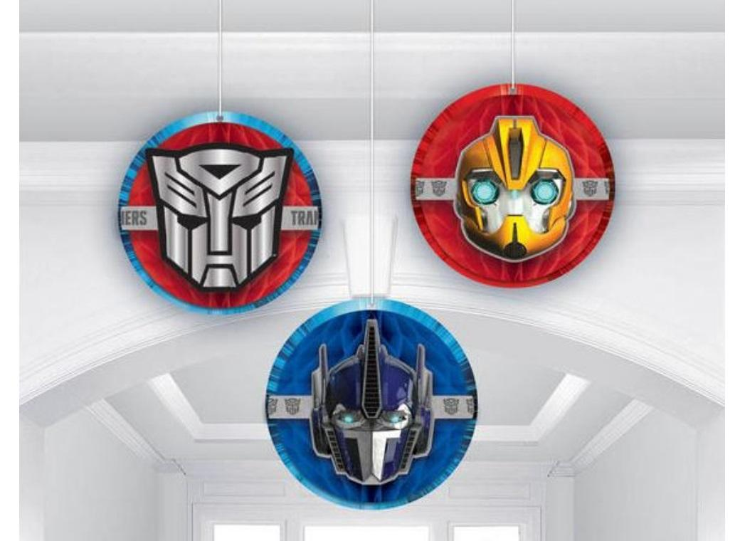 Transformers Honeycomb Hanging Decorations