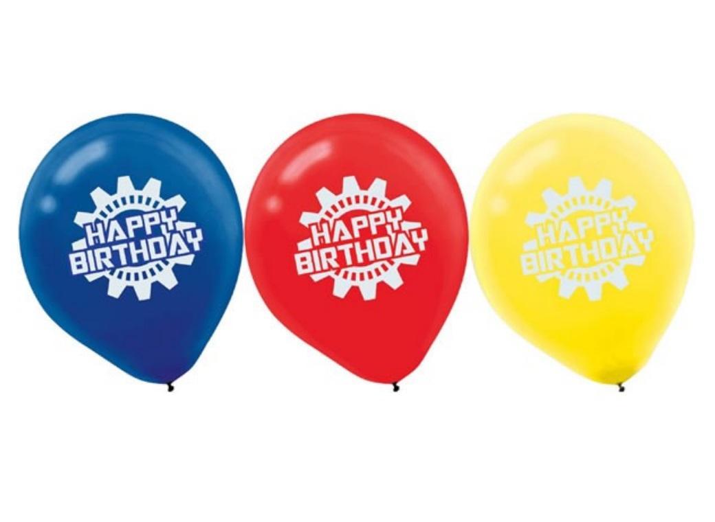 Transformers Balloons - 6pk