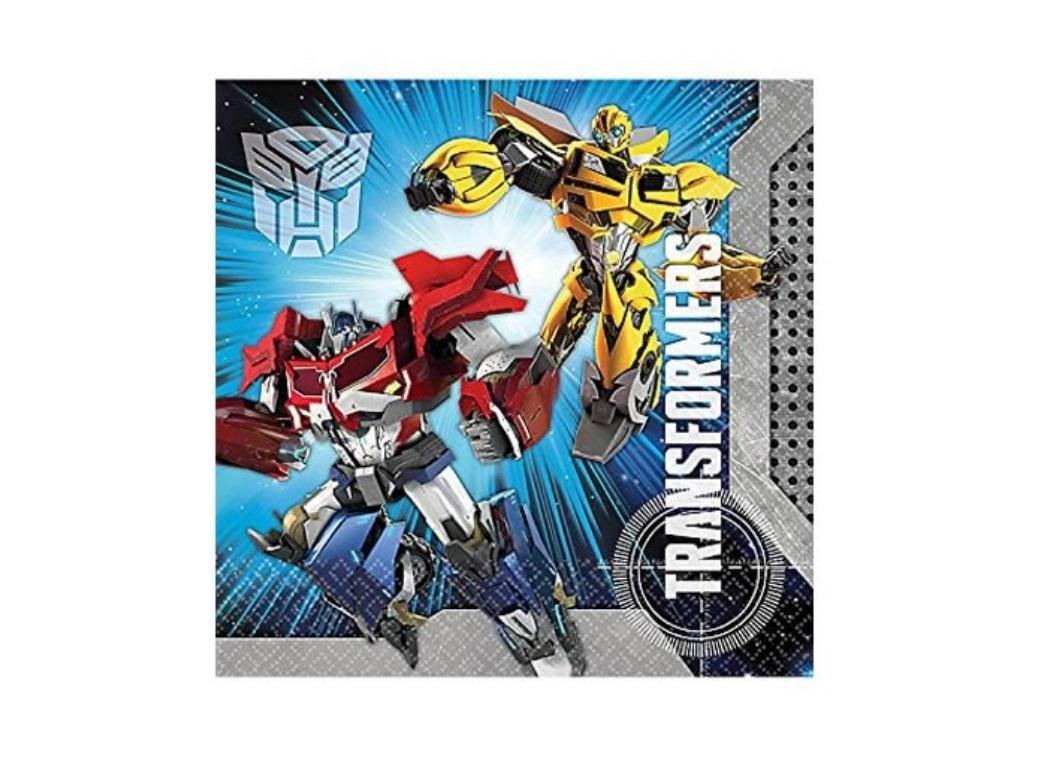 Transformers Lunch Napkins