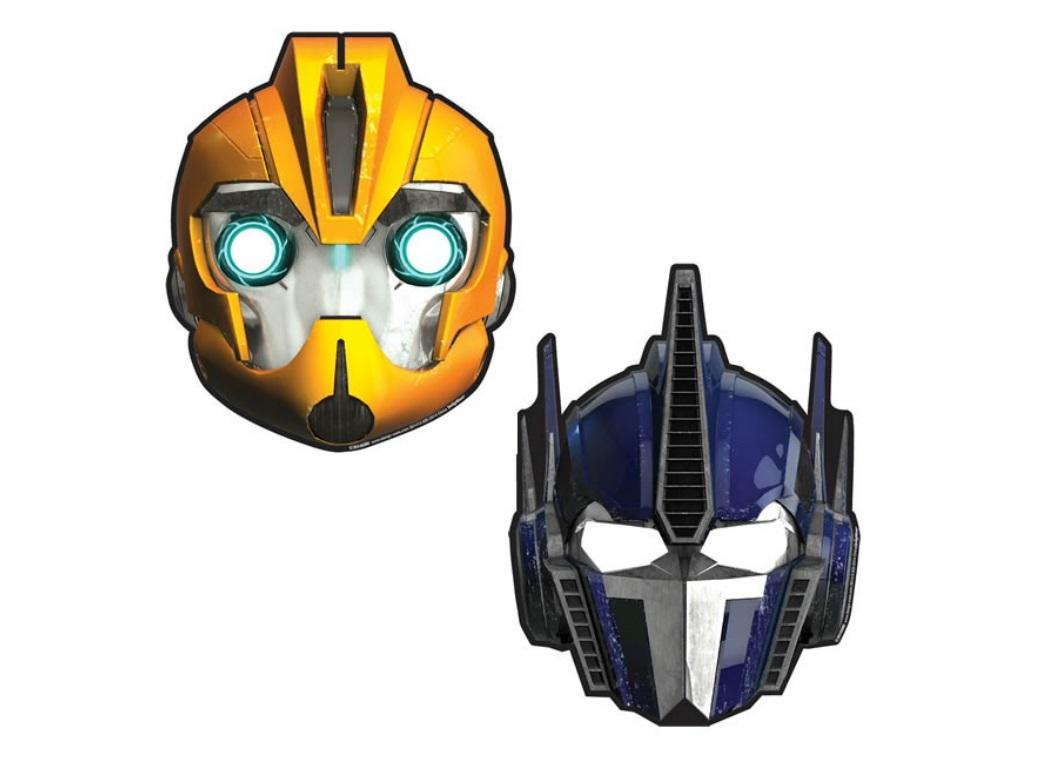 Transformers Party Masks - 8pk
