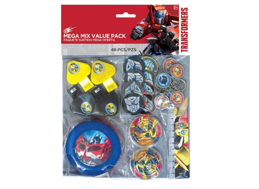 Transformers Mega Mix Favour Pack - 48pce