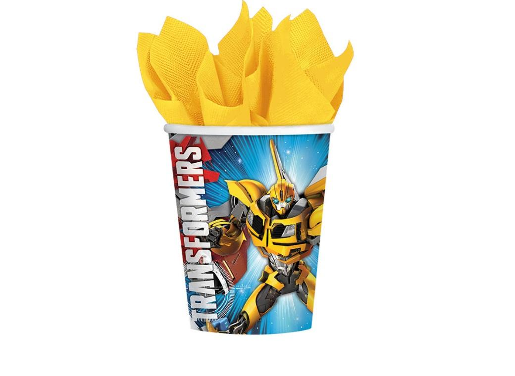 Transformers Paper Cups - 8pk