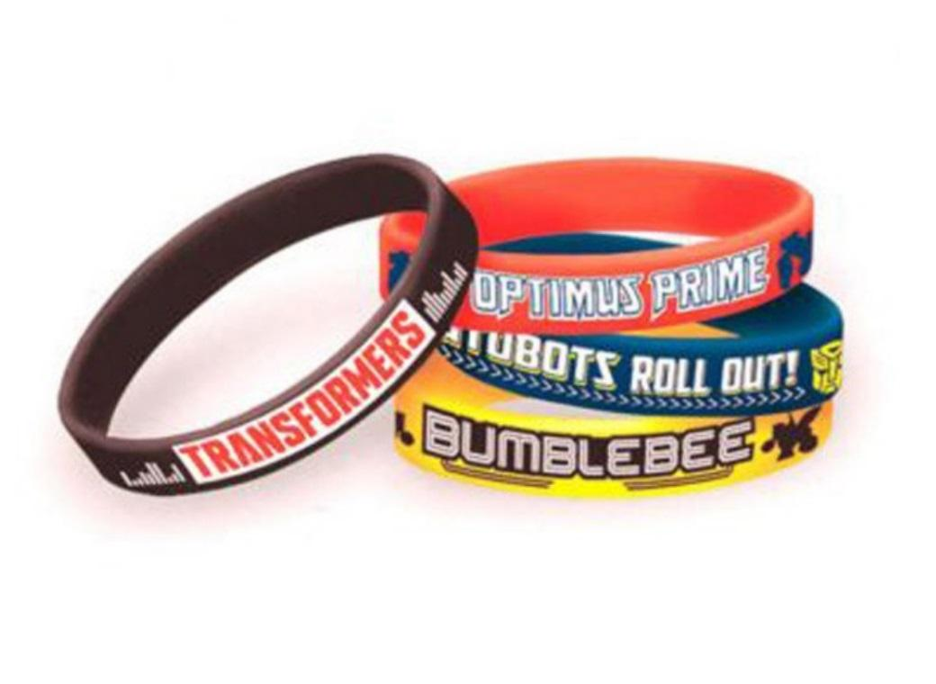 Transformers Bracelets 4pk