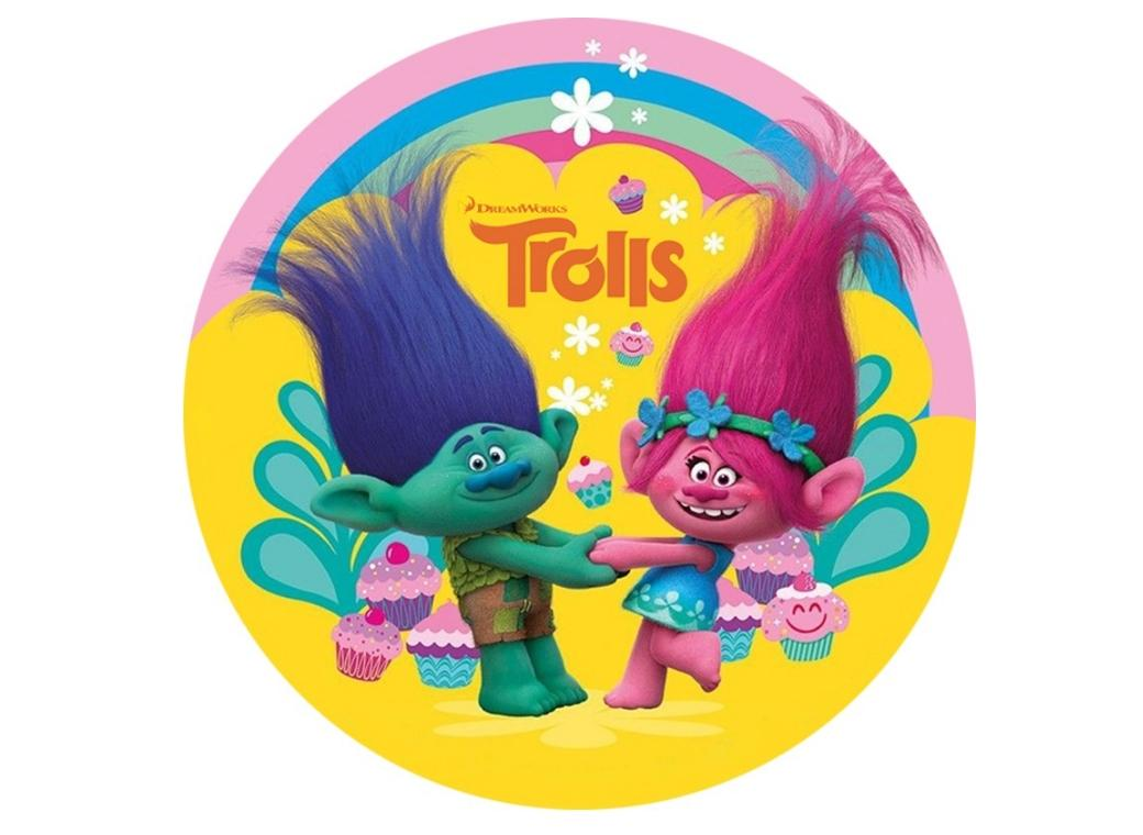 Edible Icing Image - Trolls Round
