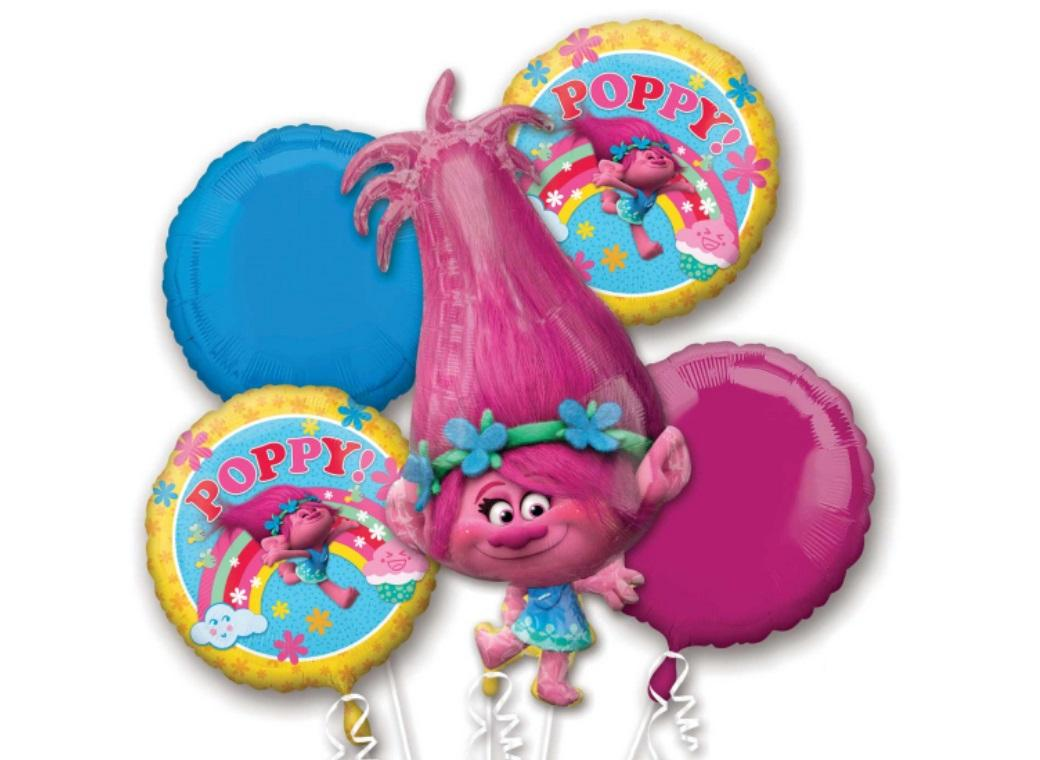 Trolls Foil Balloon Bouquet