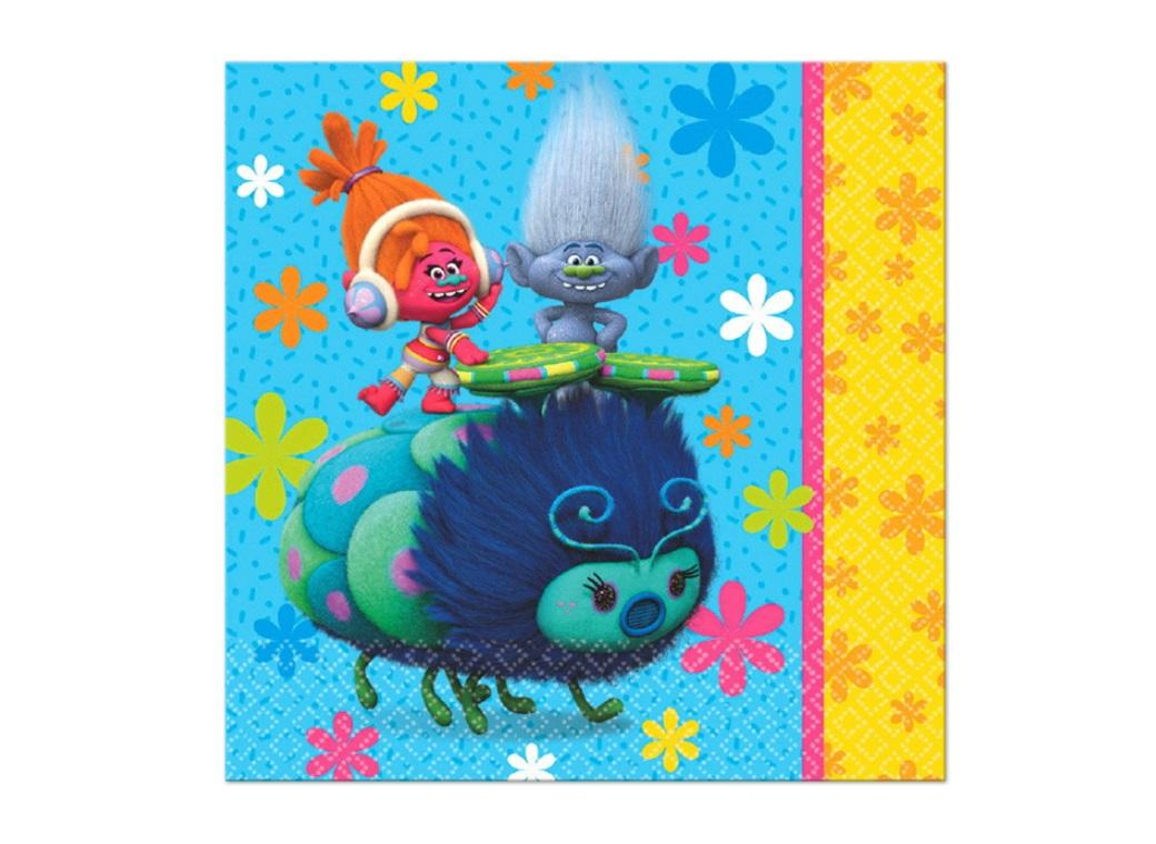 Trolls Lunch Napkins - 16pk