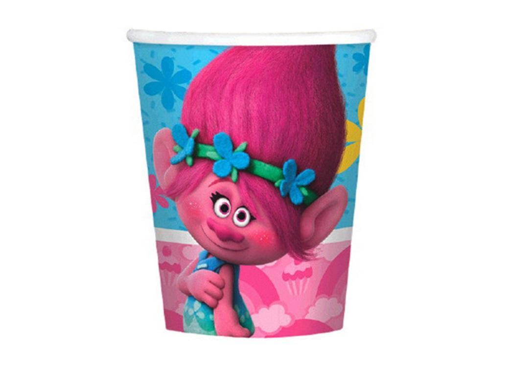 Trolls Paper Cups - 8pk
