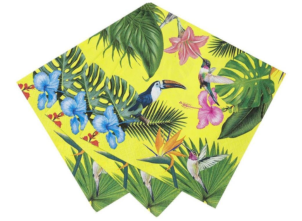 Tropical Fiesta Bright Napkins 20pk