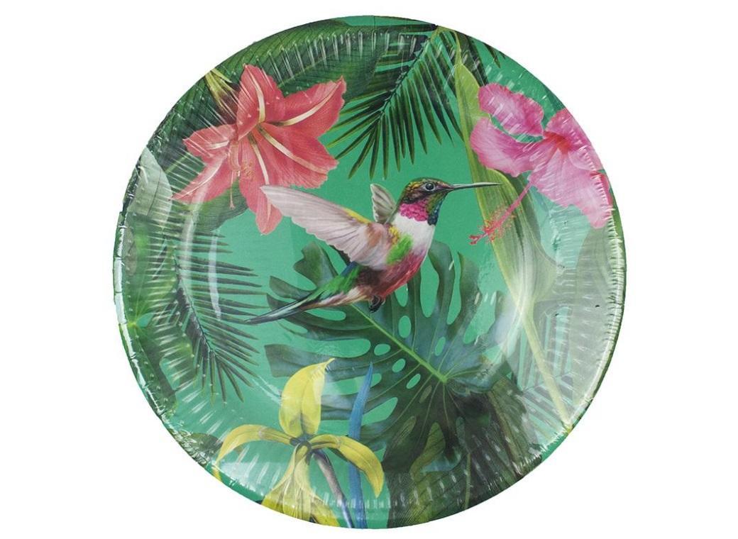 Tropical Fiesta Bright Plates 12pk