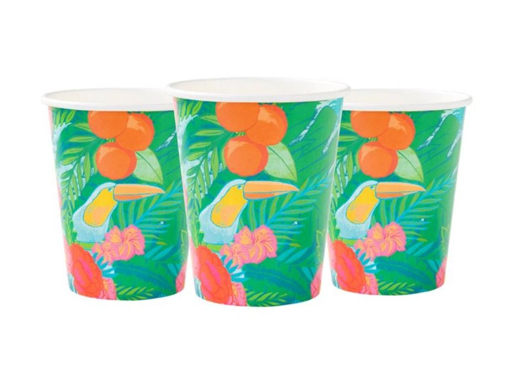 Tropical Fiesta Cups