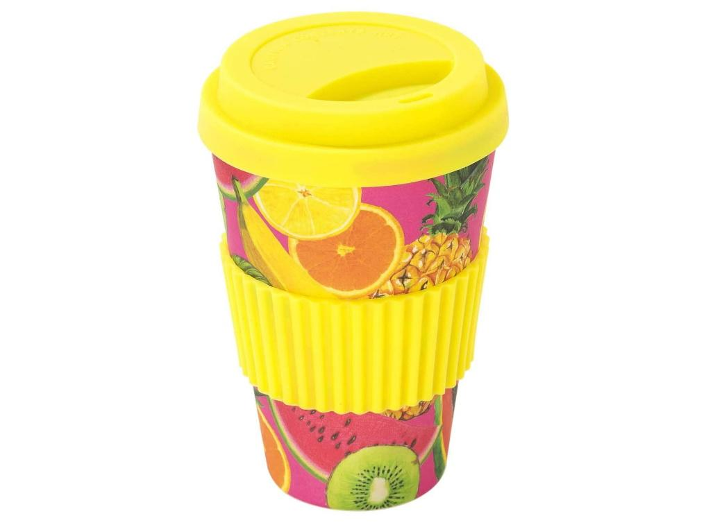 Tropical Fiesta Fruit Travel Cup