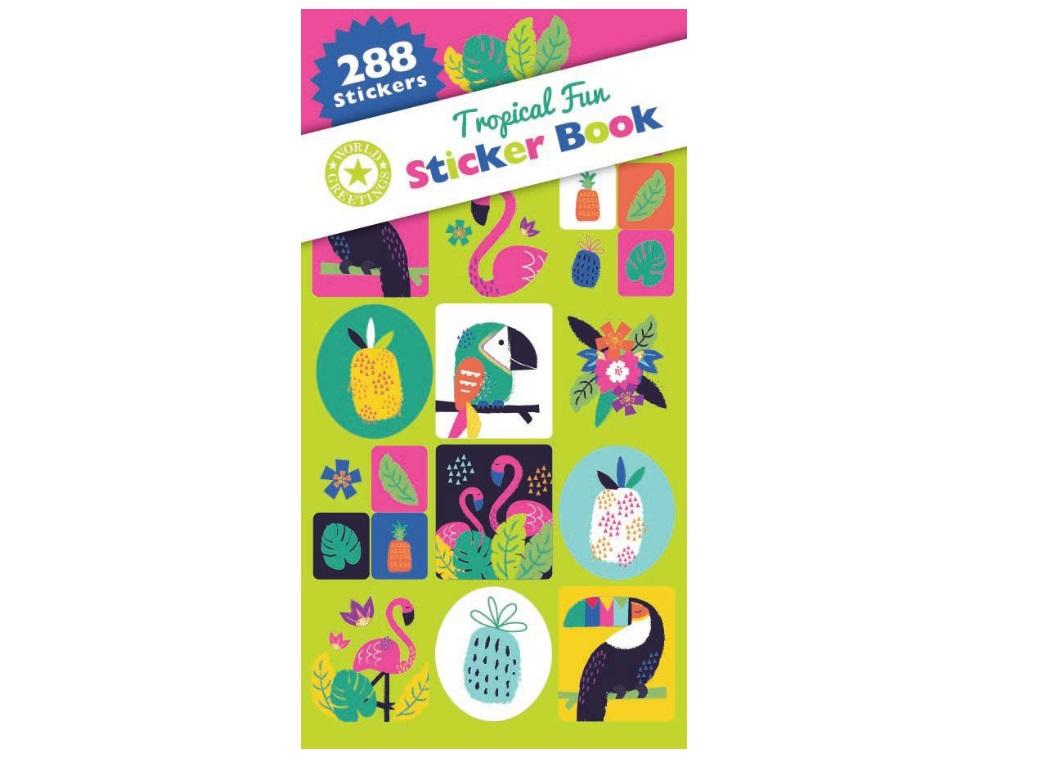 Sticker Book - Tropical Fun