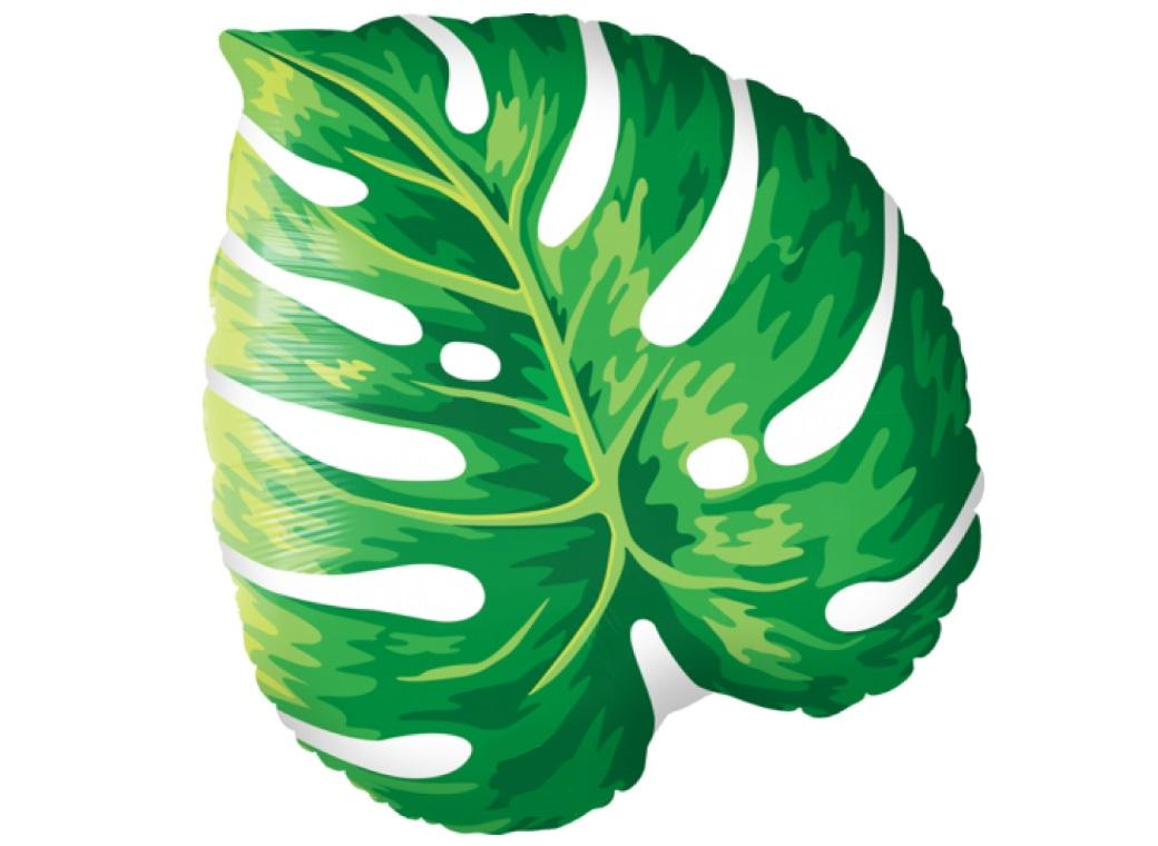 Tropical Leaf Shape Foil Balloon