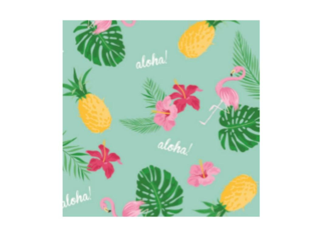 Tropical Party Napkins 20pk