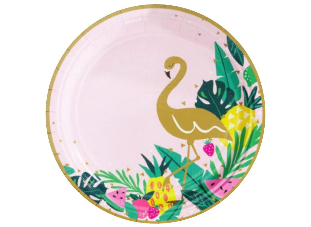 Tropical Party Plates 8pk
