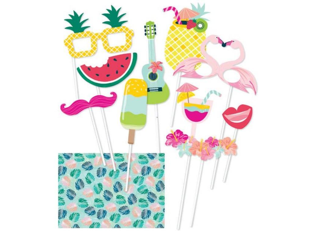Tropical Party Photo Props