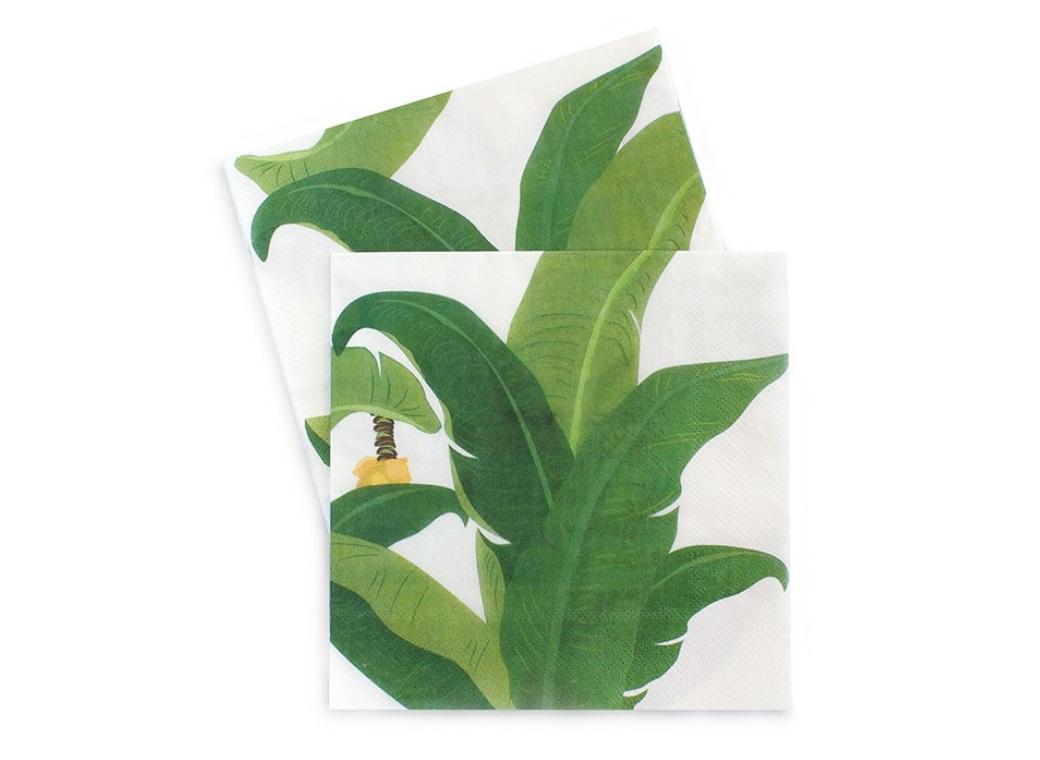 Paper Eskimo Napkins - Troppo Leaf