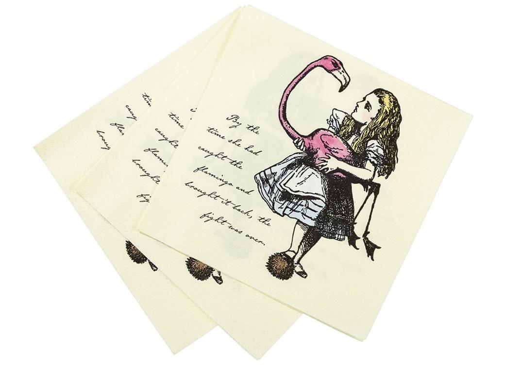 Truly Alice Lunch Napkins 20pk