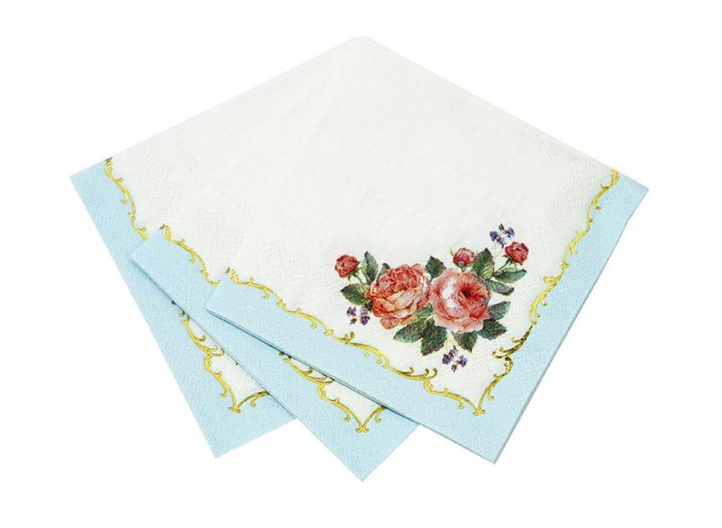 Truly Chintz Cocktail Napkins 16pk