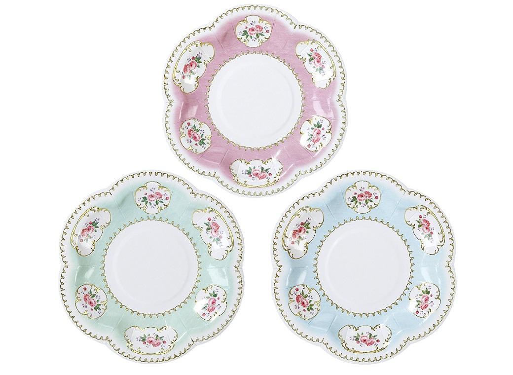 Truly Chintz Extra Small Plates 12pk