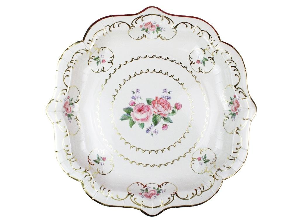 Truly Chintz Medium Plates 8pk