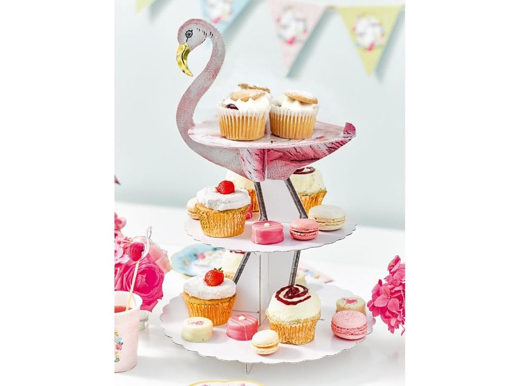 Truly Flamingo Cake Stand