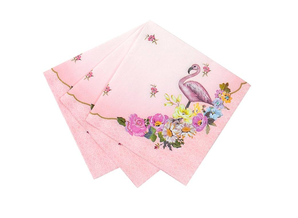 Truly Flamingo Cocktail Napkins 20pk