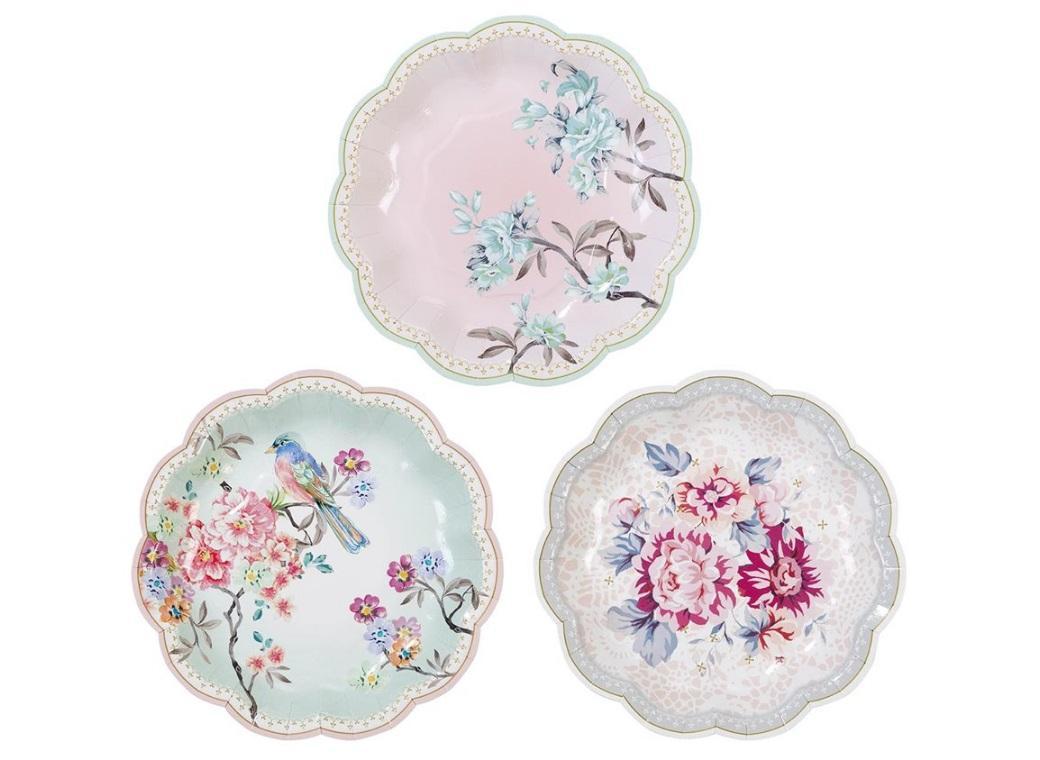 Truly Romantic Plates 12pk