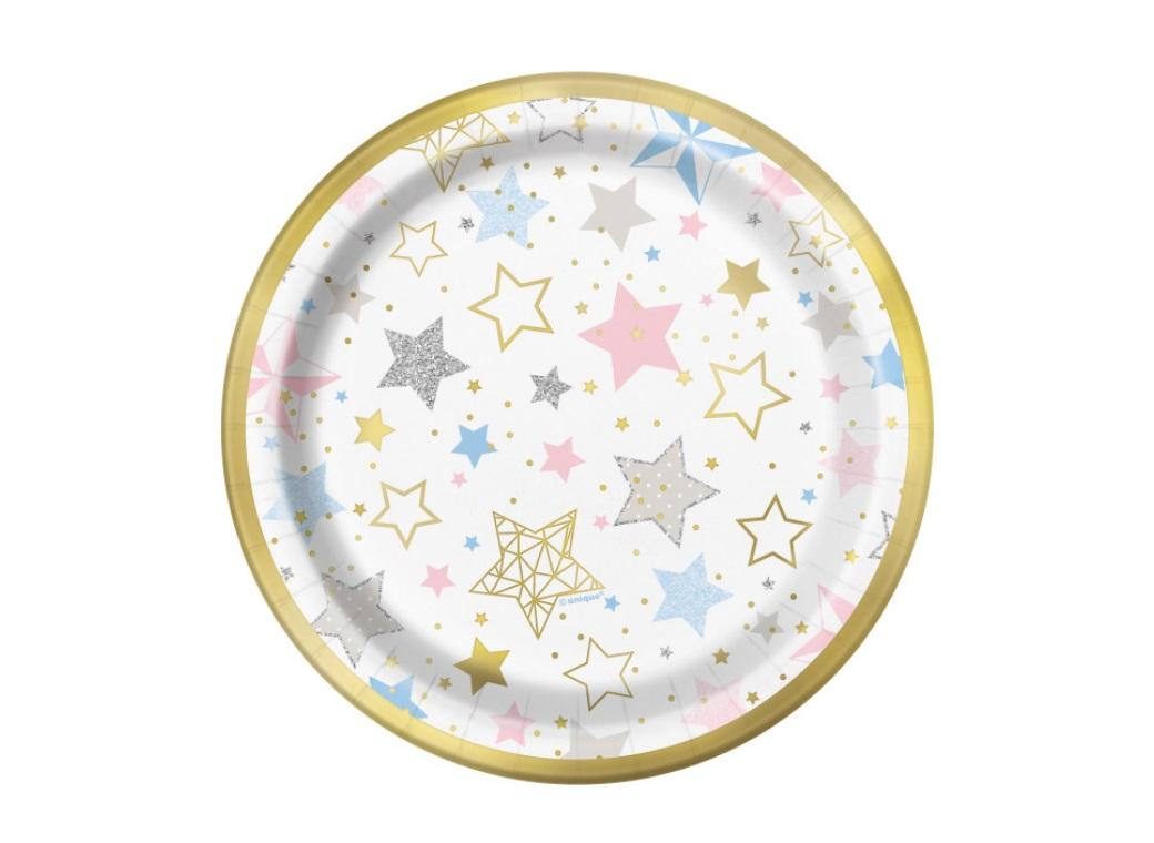 Twinkle Little Star Lunch Plates 8pk