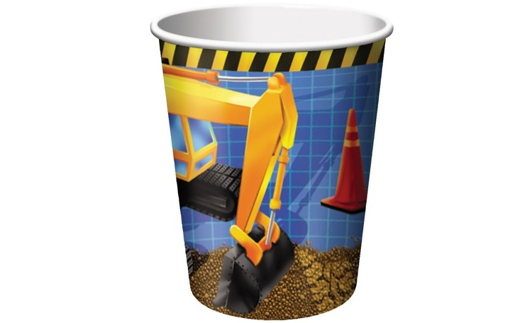 Under Construction Cups - 8pk
